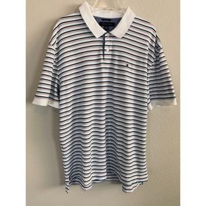 Tommy Hilfiger Striped Polo T-Shirt, 2X